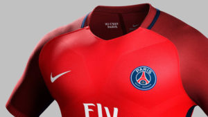 Paris 2017 maillot exterieur foot 2016 2017