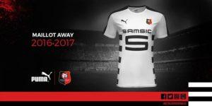 Rennes 2017 maillot exterieur football 2016 2017