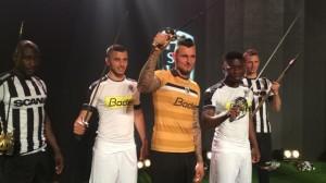 SCO Angers 2017 maillots foot Kappa 16-17