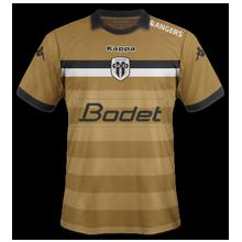 SCO Angers 2017 troisieme maillot third