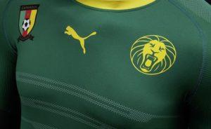 zoom sur le maillot du Cameroun 2016 2017