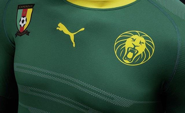 Le nouveau maillot du Cameroun CAN 2017