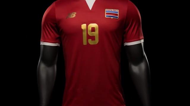 Les maillots de foot Costa Rica Copa America 2016 Centenario