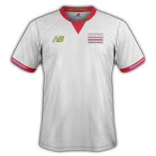 Costa Rica 2016 maillot exterieur Copa America 2016