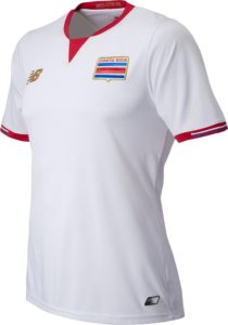 Costa Rica 2016 dos du maillot exterieur Copa America 2016