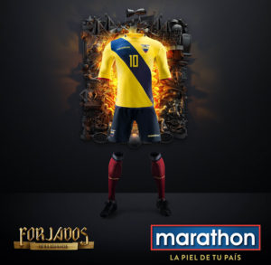 Equateur 2016 maillot domicile Copa America Centenario