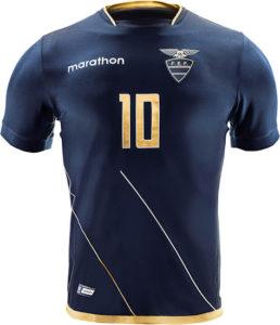Equateur 2016 maillot exterieur Copa America Centenario