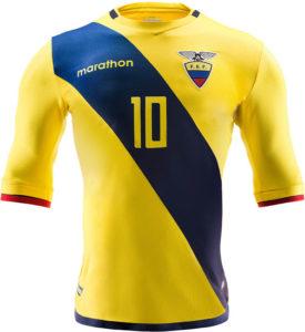 Equateur 2016 maillot foot domicile Copa America Centenario