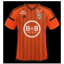 FC Lorient 2017 maillot domicile foot