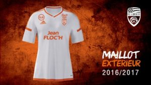 FC Lorient 2017 maillot exterieur foot Adidas