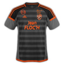 FC Lorient 2017 maillot third foot