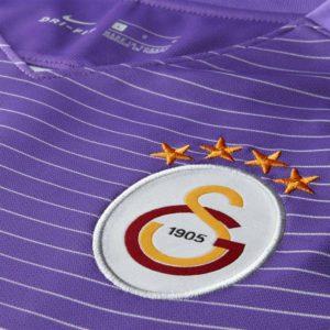 Galatasaray 2017 blason maillot third