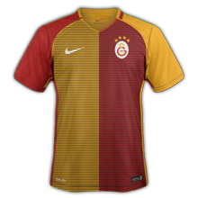 Galatasaray 2017 maillot foot Nike domicile 16-17
