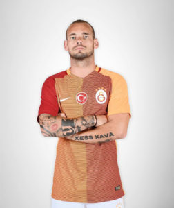Galatasaray 2017 maillot foot domicile 2016-2017