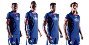 Haiti 2016 maillot domicile football Copa Amercia Centenario
