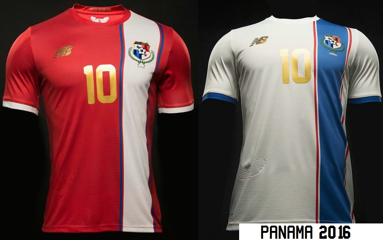 Panama 2016 les maillots pour la Copa America Centenario