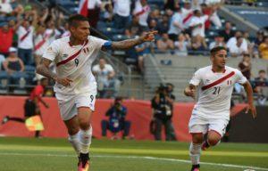 Perou 2016 maillot domcile Copa America Centenario