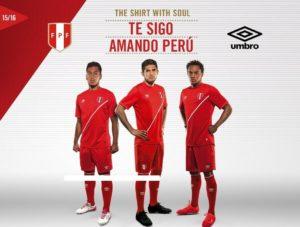 Perou 2016 maillot exterieur Copa America Centenario