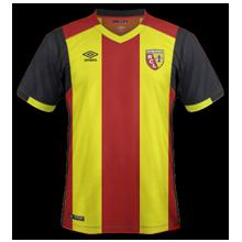 RC Lens 2017 maillot domicile 16-17