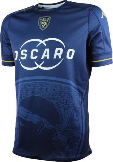 SC Bastia 2017 le maillot légende 2016 2017