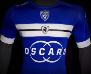 SC Bastia 2017 maillot domicile officiel Kappa 2016 2017