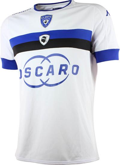 SC Bastia 2017 maillot exterieur Kappa