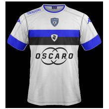 SC Bastia 2017 maillot exterieur