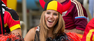 axelle despiegelaere supportrice belge coupe du monde 2014