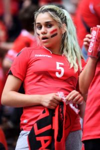belle supportrice albanaise Euro 2016