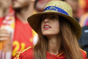 belle supportrice espagnole Euro 2016
