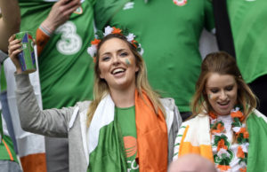belles supportrices irlandaises Euro 2016
