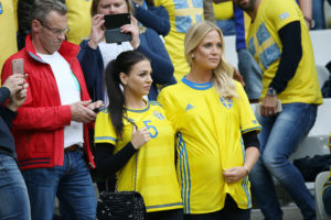 belles supportrices suédoises Euro 2016