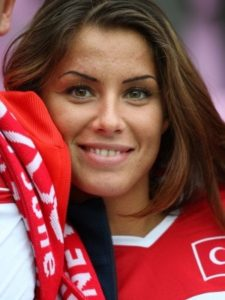jolie turque supportrice euro 2016