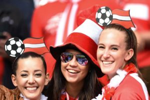 jolies supportrices suisses Euro 2016