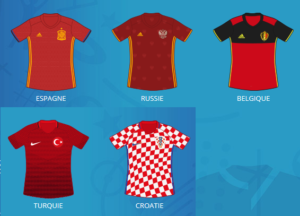 maillots gagnants statistiques Euro 2016