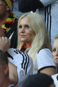 supportrice Euro 2016 allemande