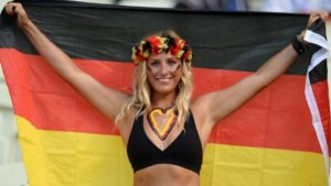 supportrice allemande euro 2016