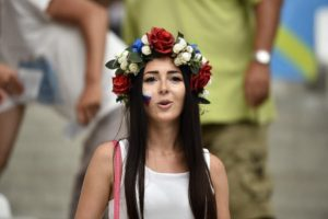 supportrice russe Euro 2016