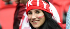 supportrice turque Euro 2016