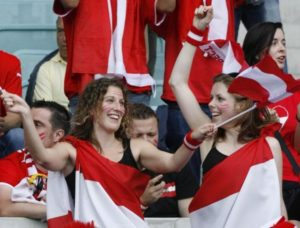 supportrices autrichiennes Euro 2016