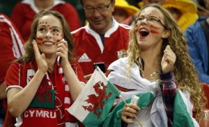 supportrices galloises Euro 2016