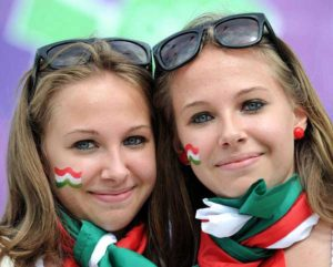 supportrices hongroises