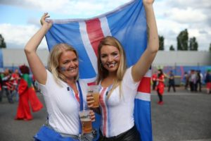 supportrices islandaises euro 2016