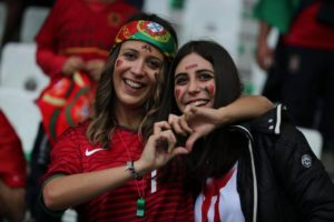 supportrices portugaises euro 2016