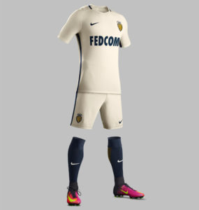 AS Monaco 2017 maillot de football domicile 2016-2017