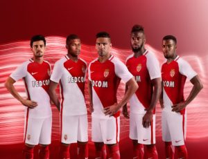 AS Monaco 2017 maillot de football domicile 2016-2017 Nike
