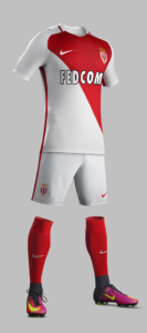 AS Monaco 2017 maillot de ftoo ASM 2016-2017