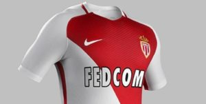 AS Monaco 2017 maillot domicile 16-17
