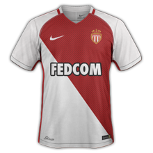AS Monaco 2017 maillot domicile foot 16-17