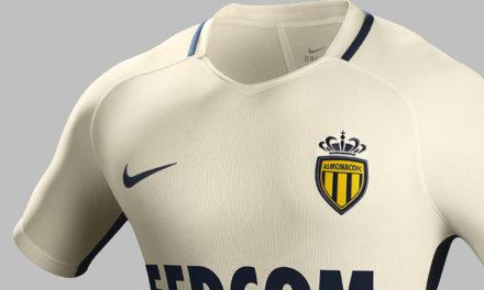 AS Monaco 2017 les nouveaux maillots faits par Nike